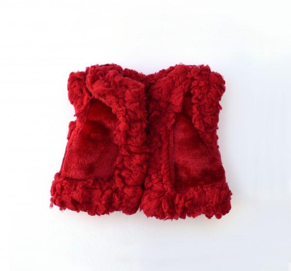 Chaleco Borreguillo rojo